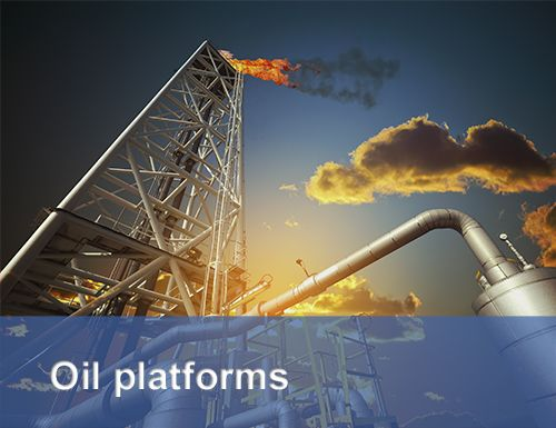 Picture for the access control in ATEX environment in oil platforms
