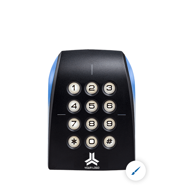 Picture of an upgradable Architect keypad reader for customization