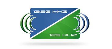Picture of a 125 kHz + 13.56 MHz hybrid card for secure migration