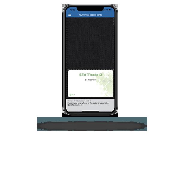 Badge virtuel gratuit STid Mobile ID®