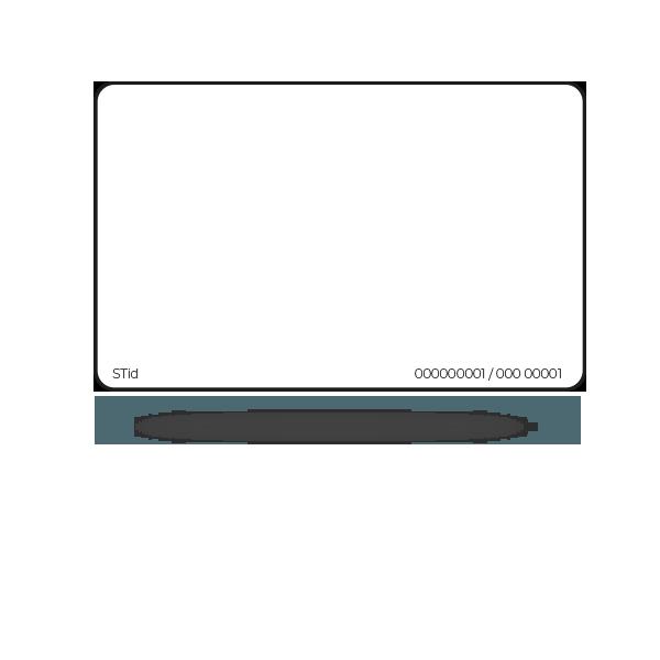 CCT EASYLINE - Badge ISO 13,56 MHz MIFARE® DESFire® EV2 pré-codé