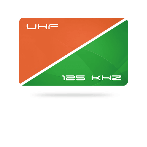 CCT - 125 kHz + UHF hybrid dual-frequency ISO cards