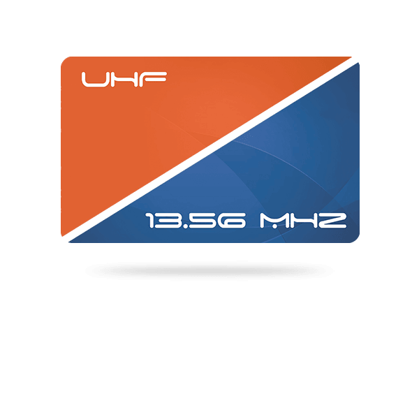 CCT - 13.56 MHz + UHF hybrid dual-frequency ISO cards