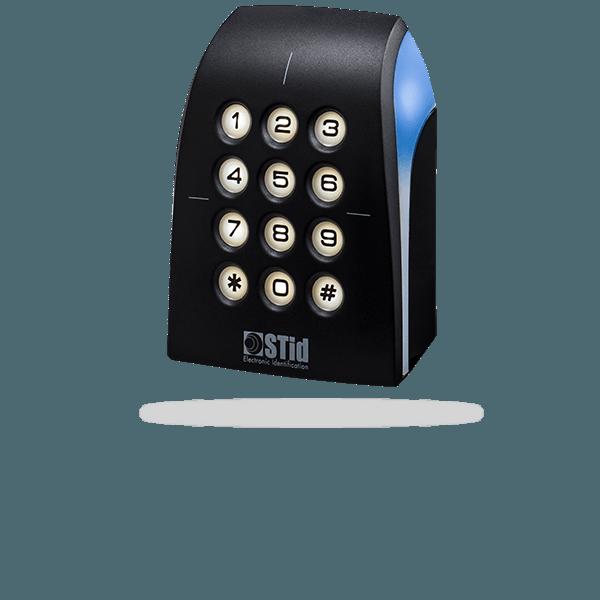 ARCS-B/BT - 13.56 MHz DESFire® EV2 & EV3 + Bluetooth® keypad reader