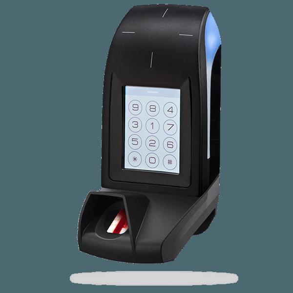 ARC-Q - Lecteur écran / clavier tactile biométrique 13,56 MHz LEGIC® Advant