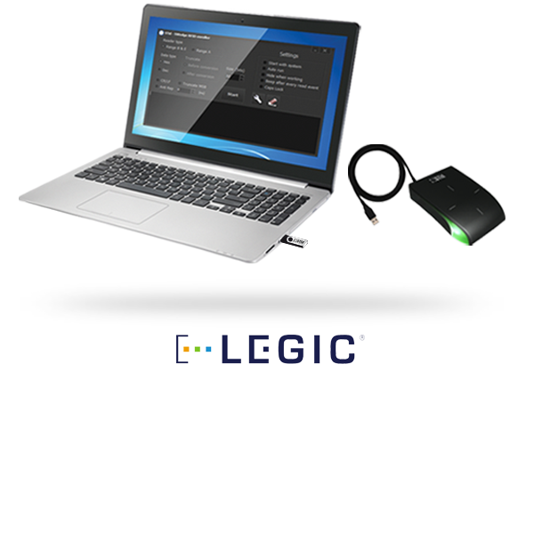 SWEDGE LEGIC® - 13.56 MHz LEGIC® credential enrollment kits