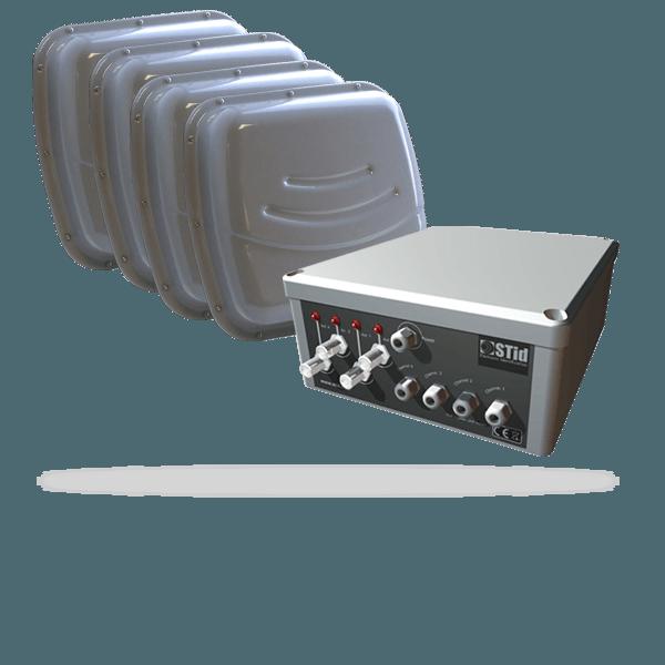 URD - Lecteurs multi-antennes UHF - Jusqu'à 4 antennes déportées